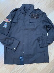 Nike NFL Salute To Service Chicago Bears Men's Military Jacket XL NWT AT7697-237