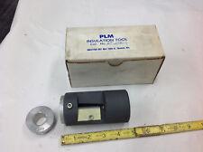 Plm Pt 250-C Cable Insulation Pencilling Tool .875 & .859 Bushing bb7 shelf