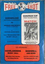 Sunderland Nashua Den Bosch Copa Europea V baloncesto 1981