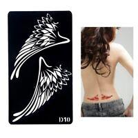 Henna Tattoo Schablone Airbrush Stencil Selbstklebend Flügel