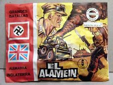 MONTAPLEX Sobre Grandes Batallas EL ALAMEIN Alemania Vs Inglaterra 2ª GM airfix