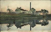 Greene NY Empire State Milk Condensery c1910 Postcard