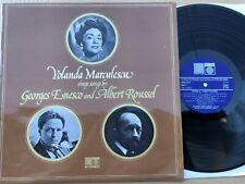 SAGA 5416 Yolanda Marculescu Sings Songs By George Enesco & Albert Roussel