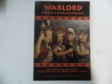 WARLORD 1 - ANCIENTS AND DARK AGES WARFARE- WARGAMES RULES - NEW