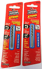 "Vermont American 12733 3/32"" Xtend Fractional Drill Bits (2 Packs of 2)"