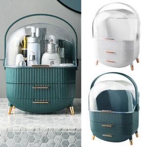 Large Cosmetic Organizer Box Desktop Make-up Holder Jewelry Storage Drawers Case