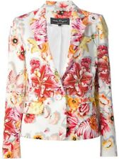 Salvatore Ferragamo  White Floral Blazer IT 44 or UK 12 rrp $2,400