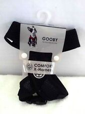 NEW GOOBY COMFORT X HARNESS SZ SMALL /CHEST 12-16 IN  COLOR BLACK
