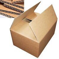 "Extra Large (XXL) 24x18x18"" Strong DOUBLE Wall Removal Moving Cardboard Boxes"