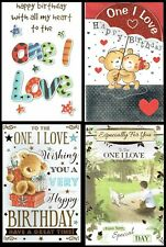 To The ONE I LOVE ~ Birthday Card ~ With FABULOUS VERSES ~ Choice of Design