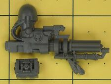 Warhammer 40K marines espaciales da empresa veteranos Alamuerte cañón de asalto