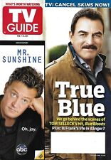 TV Guide Magazine Tom Selleck Blue Bloods Regis Philbin Kelly Ripa Glee 2011