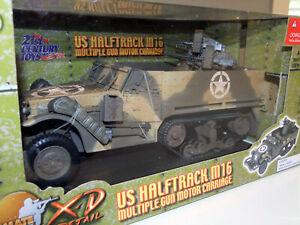 1/18 US Halftrack M16 Multiple Gun Motor Carriage 21st Century Toys XD 10106