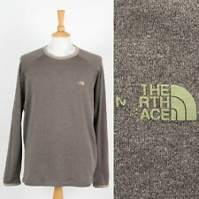 MENS THE NORTH FACE SPORTS SWEATSHIRT THERMAL STYLE CREW NECK SWEATER ACTIVE L