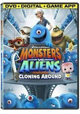Monsters vs. Aliens: Cloning Around (DVD, 2013)  NO DITIGAL OR GAME APP DVD ONLY
