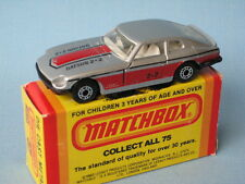 Lesney Matchbox Superfast Datsun 260Z Silver Body with Stripes Boxed