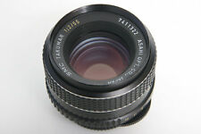 Pentax SMC Takumar 55mm f2 Lens M42 Screw Mount