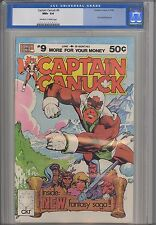 Captain Canuck #9 9.6  Comely Comix 1980 1st World Beyond from Canada Pub.
