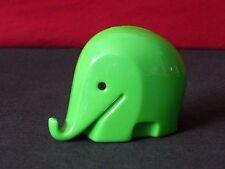 "Colani / Dresdner Style Mini 2.5"" Plastic Elephant Bank"