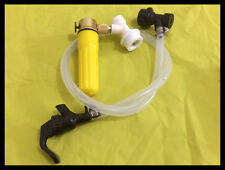 Keg Charger Co2 Injector Draft Beer Dispenser, Ball Lock & Picnic Faucet Tap