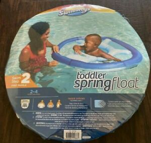 SwimWays Step 2 Toddler Spring Float 2 to 4 years Blue.  FREE SHIPPING!