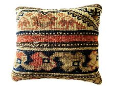 "19th Custom Made Antique  Malayer Pillow 10.5"" w"