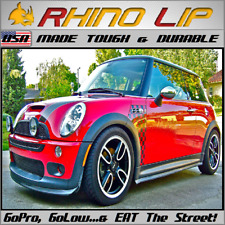 MINI COOPER Mini~Hatch F55 Hardtop F60 R61 GP RhinoLip® Flexible Rubber Chin Lip