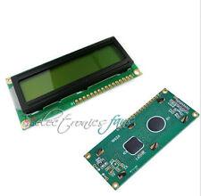 1602 HD44780 LCD Modul Display Anzeigen 16x2 Zeichen Gelbe für Arduino ASS