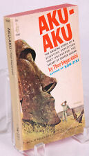 AKU-AKU Thor Heyerdahl Pocket Books 1965 PB (Paperback) Easter Island-9th Edt