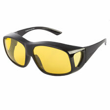 POLARIZED FIT OVER SUNGLASSES COVER ALL GLASSES DRIVING FISH WRAP SOLAR SHIELD