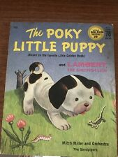 *~The Poky Little Puppy And Lambert The Sheepish Lion Record*~Mitch Miller*~