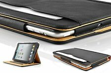 New iPad 2 3 4  Soft Leather Wallet Smart Cover Case Sleep Wake Stand For Apple