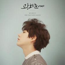 SUPER JUNIOR KYUHYUN [AT GWANGHWAMUN] 1st Mini Album CD+FotoBuch K-POP SEALED