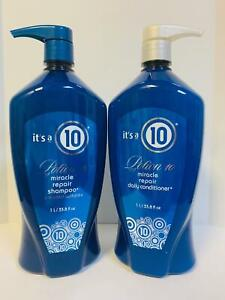 It's Its a 10 Potion Miracle Repair Daily Shampoo & Conditioner Liter Duo
