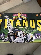MIGHTY MORPHIN POWER RANGERS TITANUS THE CARRIER ZORD With Box 1993 Bandai