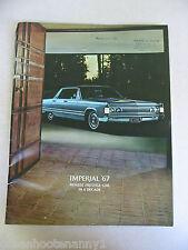 1967 Chrysler Imperial Brochure