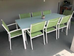 9 piece outdoor dining setting