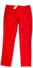 New w/Tags Ann Taylor Loft Women 4P Petite Red Modern Skinny Ankle Pants