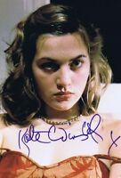 "Authentic AUTOGRAPH ""Kate Winslet"" Photo-  STAR OF MOVIE TITANIC w/coa"