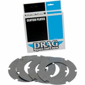 Drag Specialties Steel Clutch Plate Kit (4 Plates) for Shovelhead 68-84