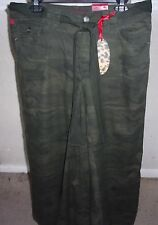 FIRE JEANS SKIRT BETHANY ARMY COLOR 100% COTTON 13 NWT