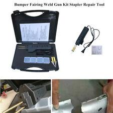 AC 220V 100W Car Hot Stapler Bumper Fairing Weld Gun Kit Stapler Repair Tool Set