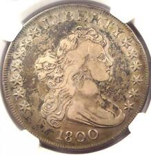 1800 Draped Bust Silver Dollar $1 Coin ( BB-193, B-19, Rarity-4) - NGC VF Detail