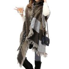 Women Long Blanket Oversized Tartan Winter Scarf Wrap Shawl Plaid Pashmina
