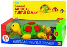Megcos Musical Turtle Family 3 Pc Childrens Toddlers Toy 40 songs Xmas Gift