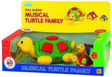 Megcos Musical Tortue Famille 3 Pc Enfants Tout-petits Jouet 40 chansons Noël