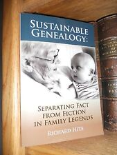 Sustainable Genealogy Seperating Fact From Fiction Book