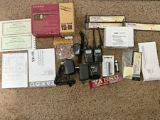 Yaesu Vx-1R Units. Two handheld units and Many accessories. Vg to Mint!