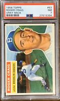 1956 TOPPS Roger Craig PSA 7 ROOKIE RC Hall Of Fame HOF NM Near Mint #63 Dodgers