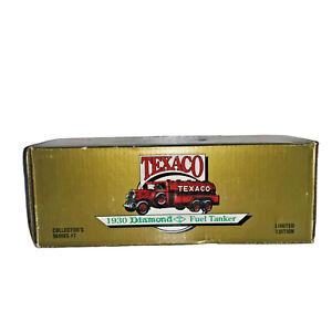 1990 Ertl Texaco 1930 Diamond Fuel Tanker LE Collector's Series 7 Diecast Truck